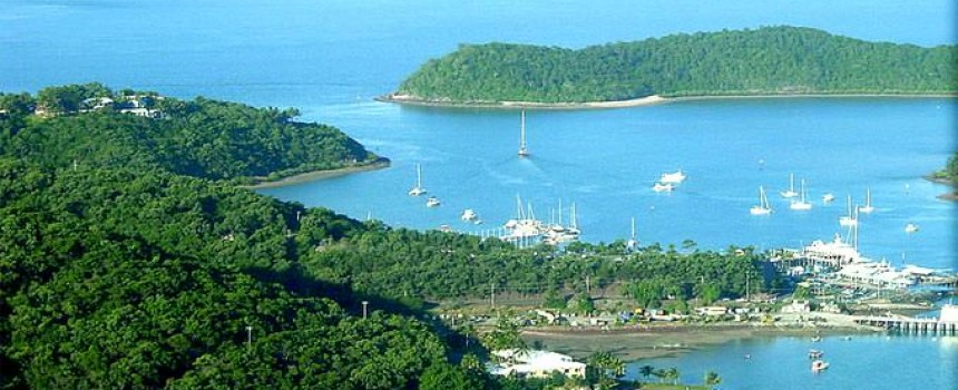 Airlie Beach From The Air