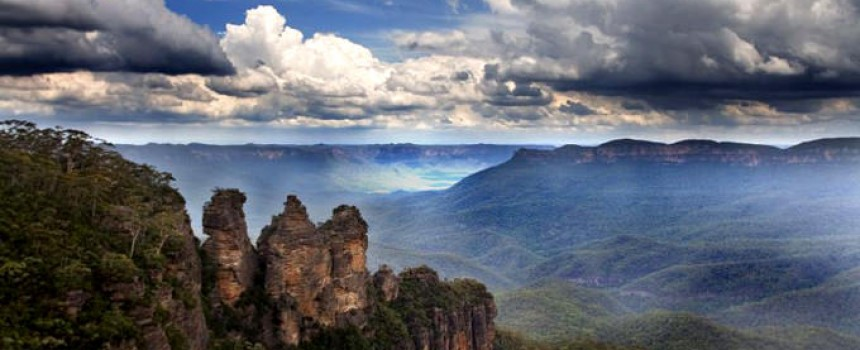 Echo Point in Katoomba