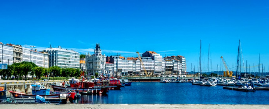 La Coruña in Spain