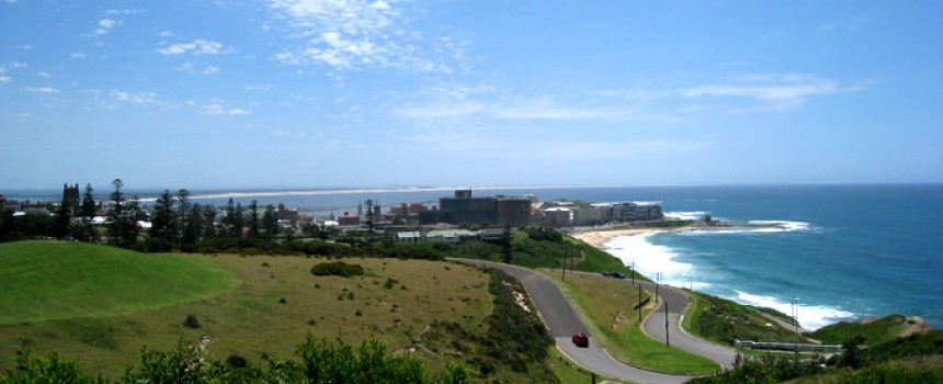 Newcastle in NSW