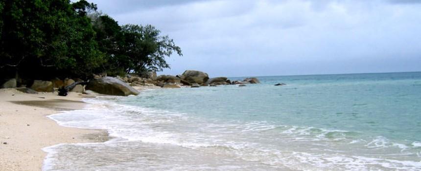 Nudey Beach in Fitzroy Island