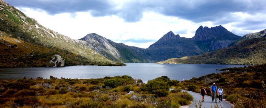 Lake Dove with Cradle Mountain