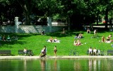 Parc Lafontaine in Montreal