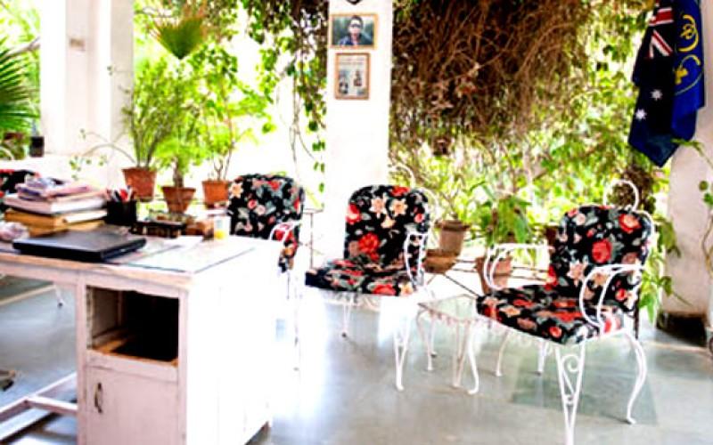 Hotel Shahar Palace Sitting Area