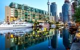 Toronto Harbor Reflection