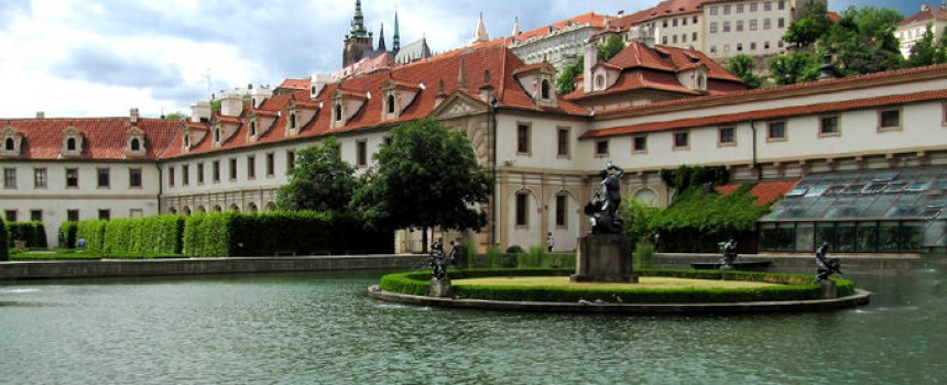 Palace Garden in Prague