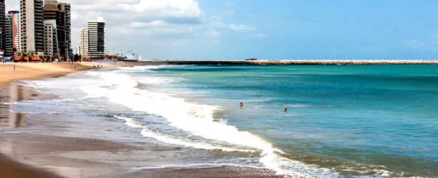 Praia de Iracema in Fortaleza