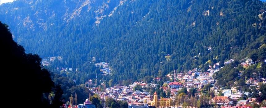 Nainital Lake and City