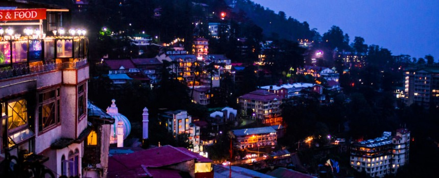View of Shimla At Dawn