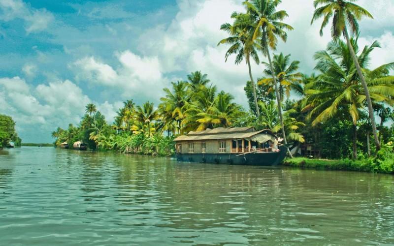 Alleppey Boat House, Kerala