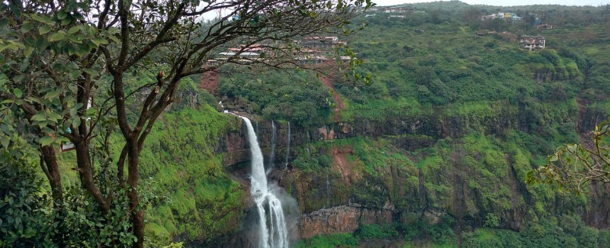 Lingmala Waterfall in Panchgani