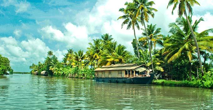 Alleppey Backwaters in Kerala