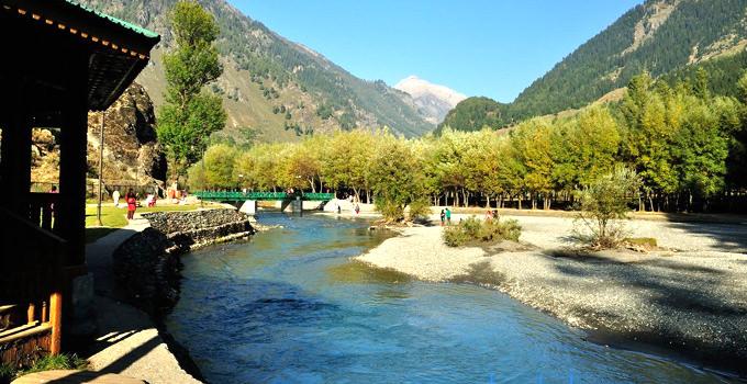Betaab valley in Pahalgam