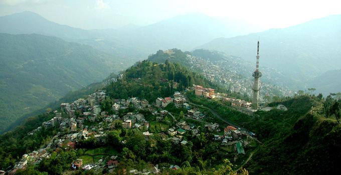 Gangtok City View