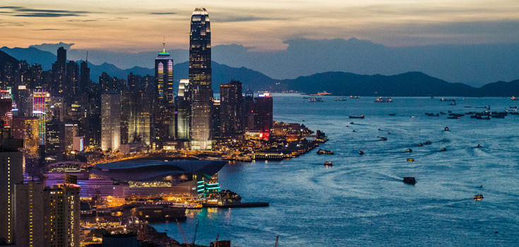 Hong Kong Super Saver 5 Nights Honeymoon Package