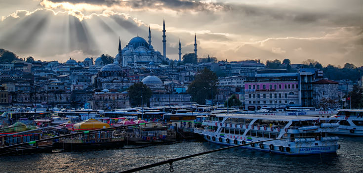 Turkish Panorama 6 Nights Honeymoon Package