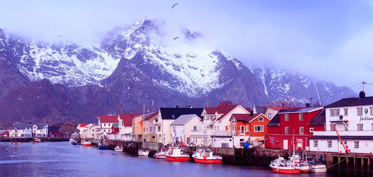 9 Nights Norway Romantic Hideaway Honeymoon Package