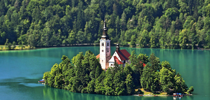 Slovenia 7 Days Honeymoon Tour Package