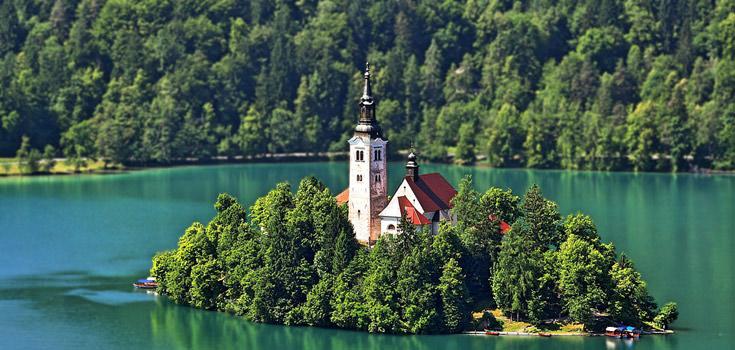 Slovenia 7 Days Honeymoon Tour Package
