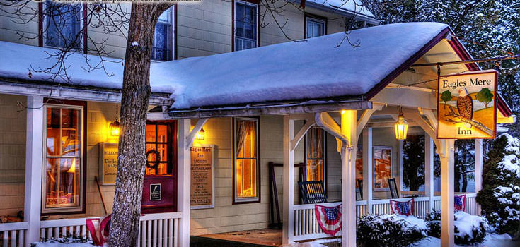 Honeymoon in Pennsylvania Package at Eagles Mere Inn
