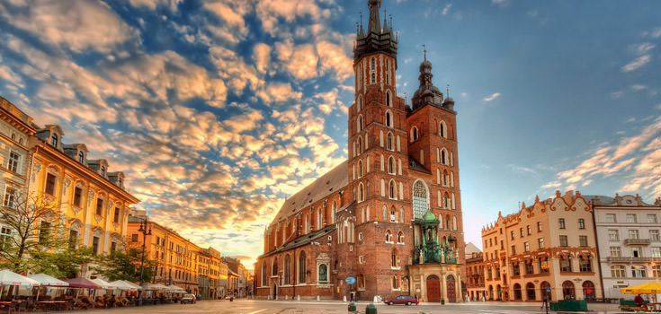 Glory of Medieval Krakow Poland Honeymoon Package