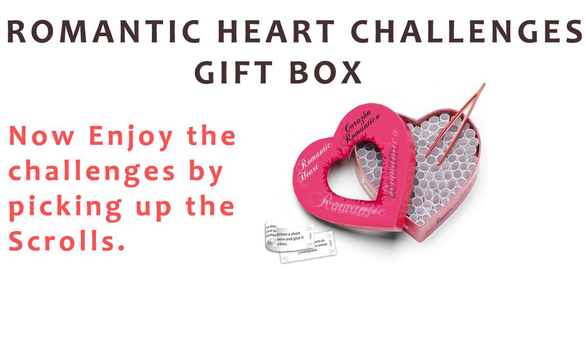 Romantic Heart Challenges Gift Box