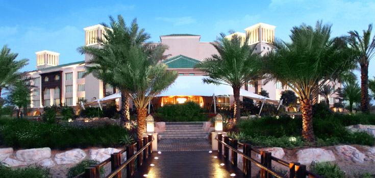 Abu Dhabi Honeymoon Package at Desert Islands Resort