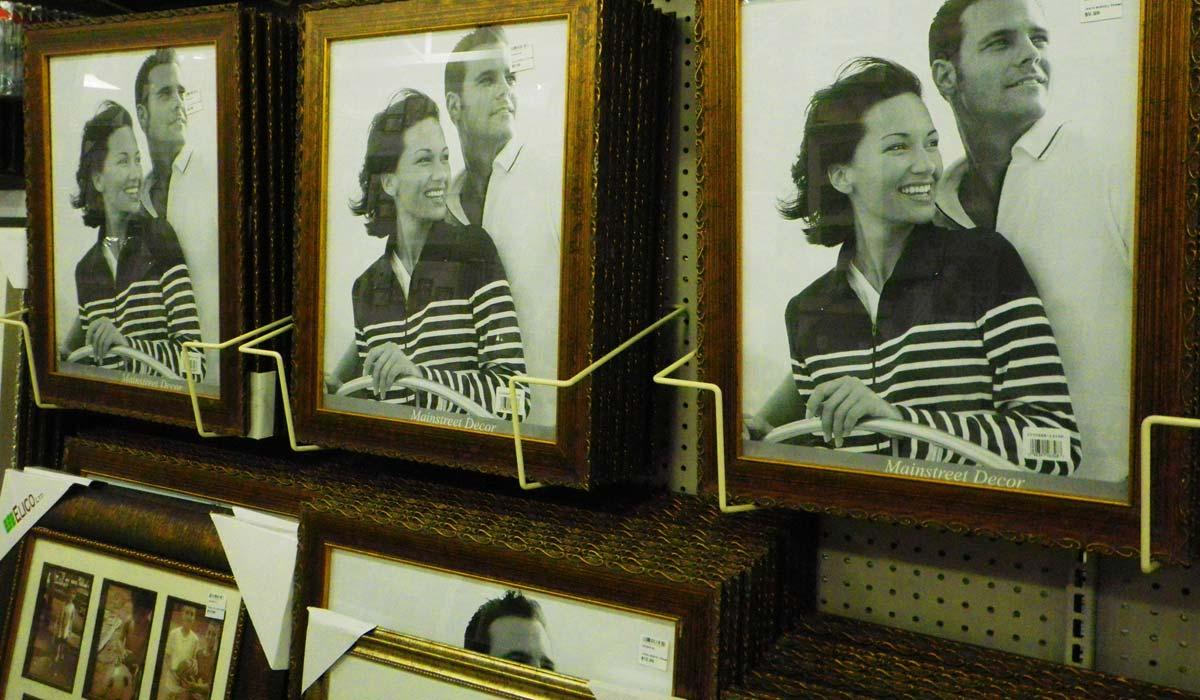 couples photo frame
