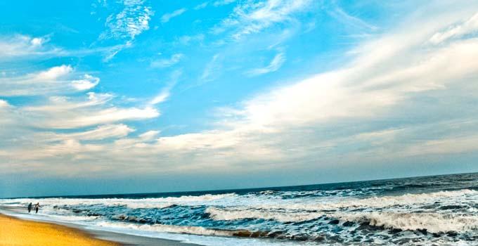 Auro beach - Pondicherry