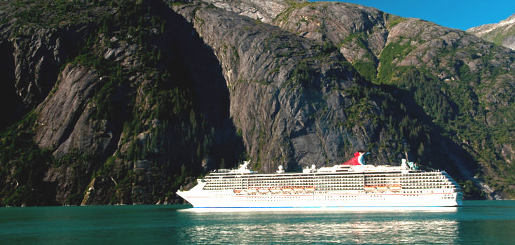 7 Day Alaska Romantic Cruise by Carnival Cruises