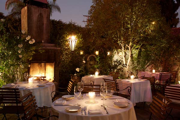 20 Most Romantic Restaurants in Los Angeles
