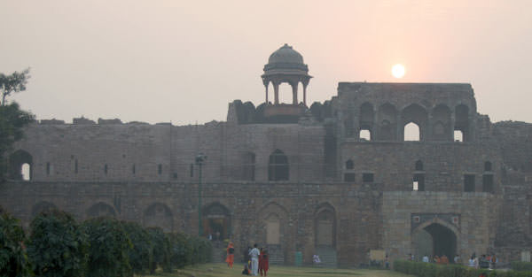 Romantic Evening in Old Fort Delhi