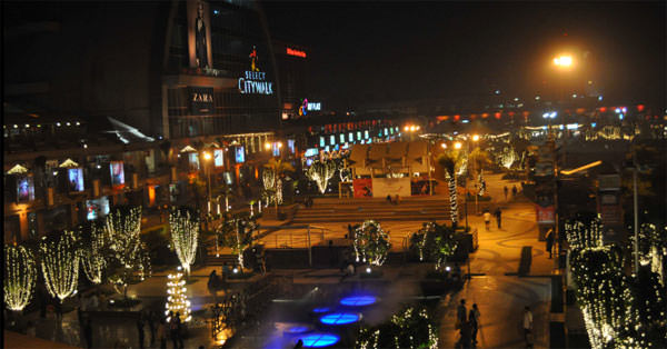 Select City Walk Mall in Saket, Delhi