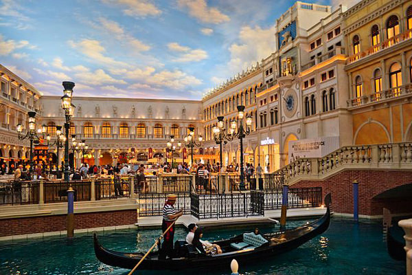 St. Mark's Square at The Venetian