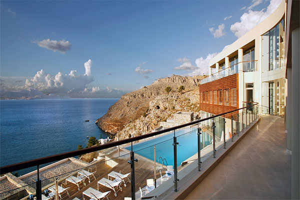lindos blu hotel & suites