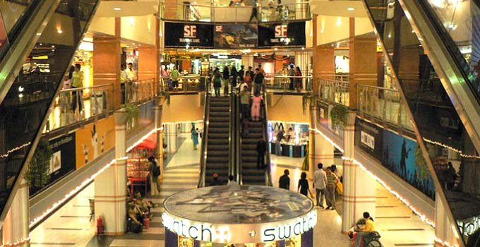 Inside Garuda Mall, Bangalore