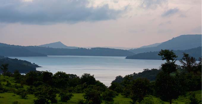 Mulshi Lake Evening View