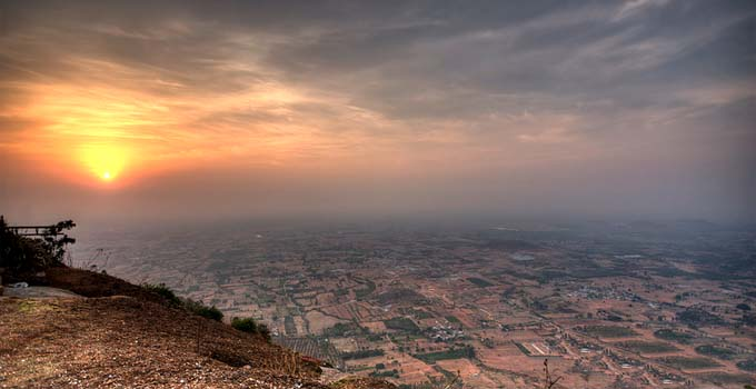 Sunrise at Nandi Hills, Bangalore