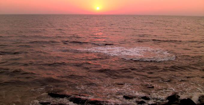 Worli Seaface Sunset