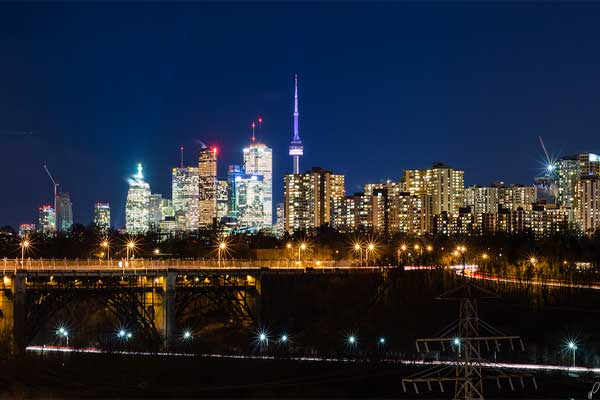 Romantic Places in Toronto
