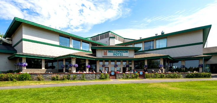 Anchorage Honeymoon With Millenium Alaskan Hotel