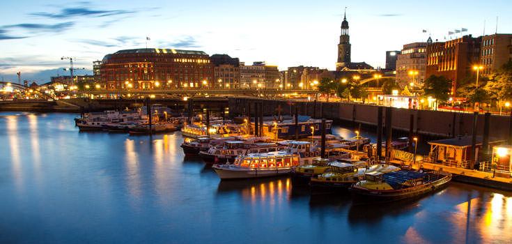 9 Nights Romantic Honeymoon in Hamburg