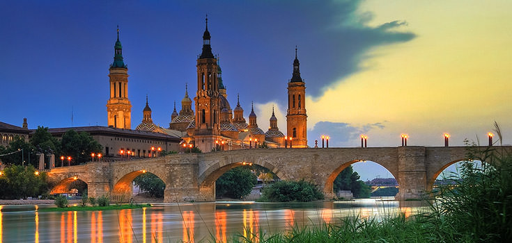 10 Nights Honeymoon Packages for Zaragoza