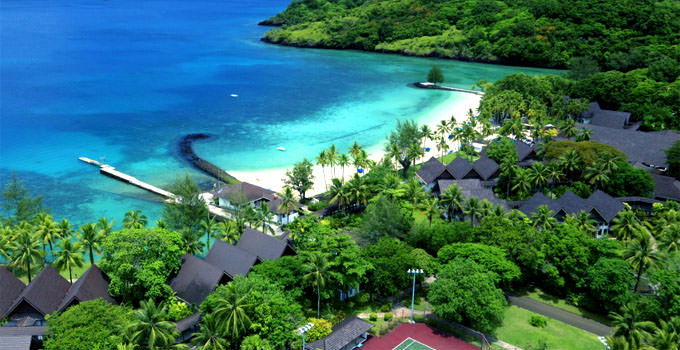 Palau Pacific Resort In Palau All Inclusive Cheap Romantic Honeymoon Package