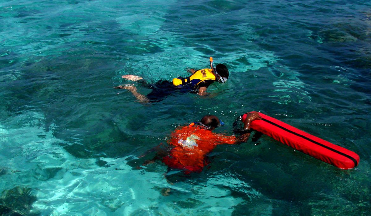 Snorkelling in Lakshadweep