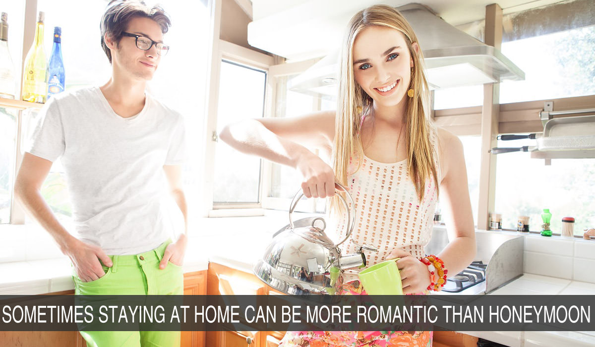 How Staying at Home Can Be More Romantic Than Honeymoon