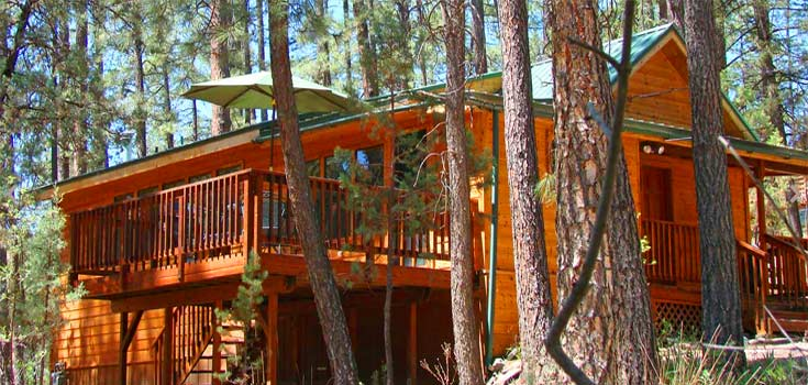 Story Book Cabins In Ruidoso New Mexico Upscale Rental