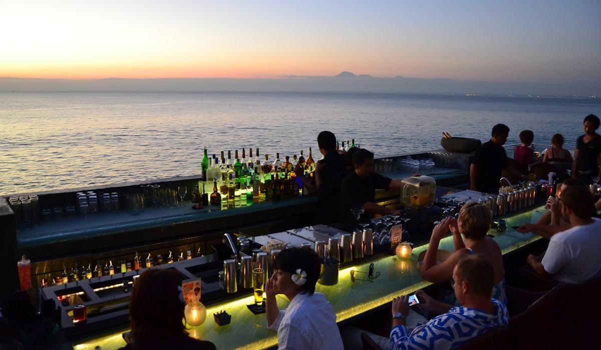 Ayana Bar in Bali