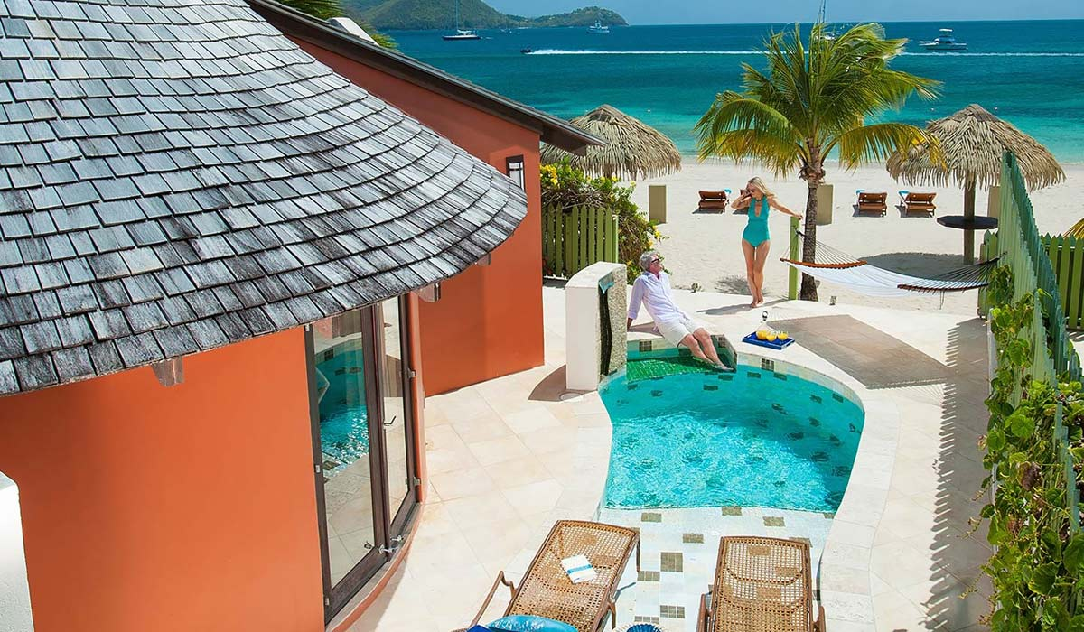 All Inclusive Sandals Grande St. Lucian Resort