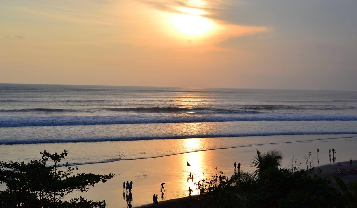 Seminayak Beach in Bali